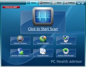 tuneup-pchealthadvisor-software